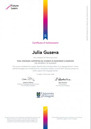 Julia Guseva - TESOL startegies - 05.2020